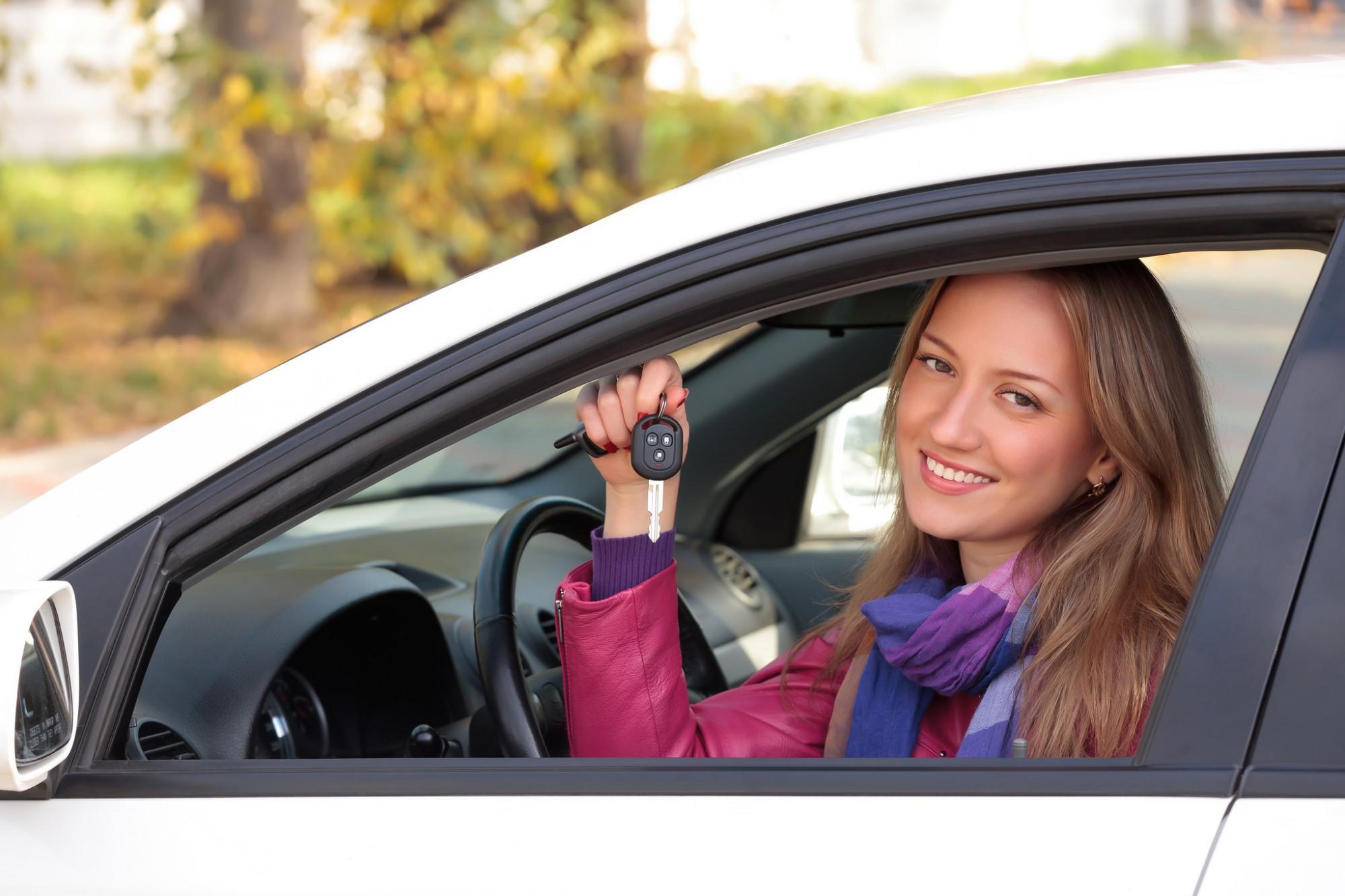 Чешскую девушку в машине 15 фотография