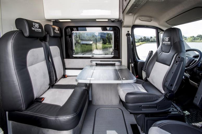 Fiat превратил фургон в кемпер для путешествий: фото