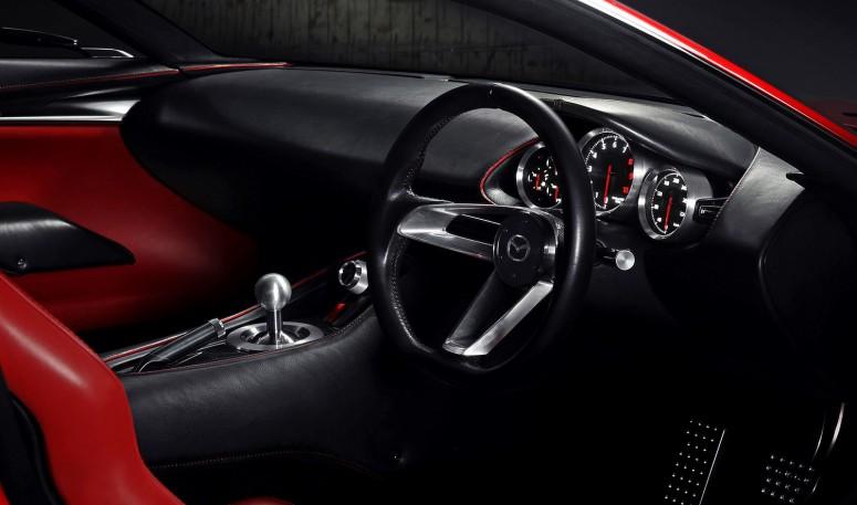 Токио-2015: Mazda рассекретила роторный спорткар [фото]