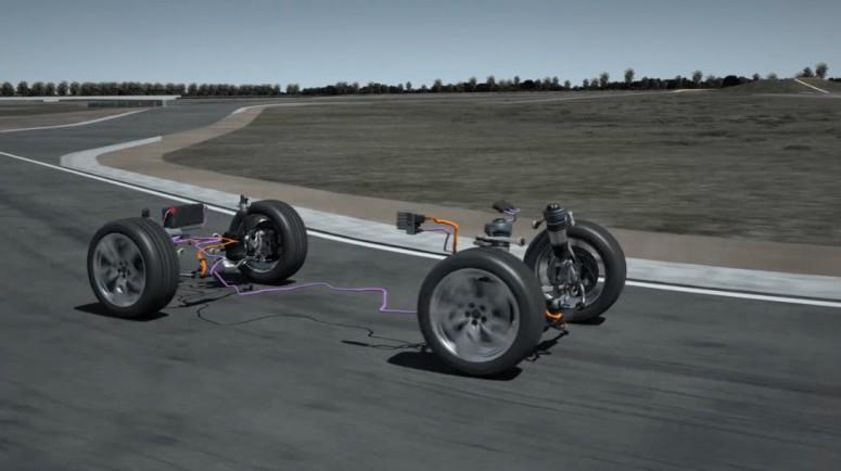 Audi превратит подвеску автомобиля в генератор [видео]