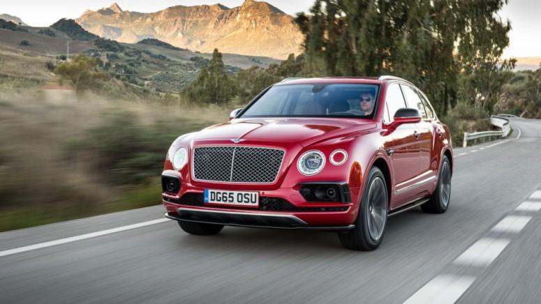 Тест-драйв от Top Gear: внедорожный Bentley Bentayga