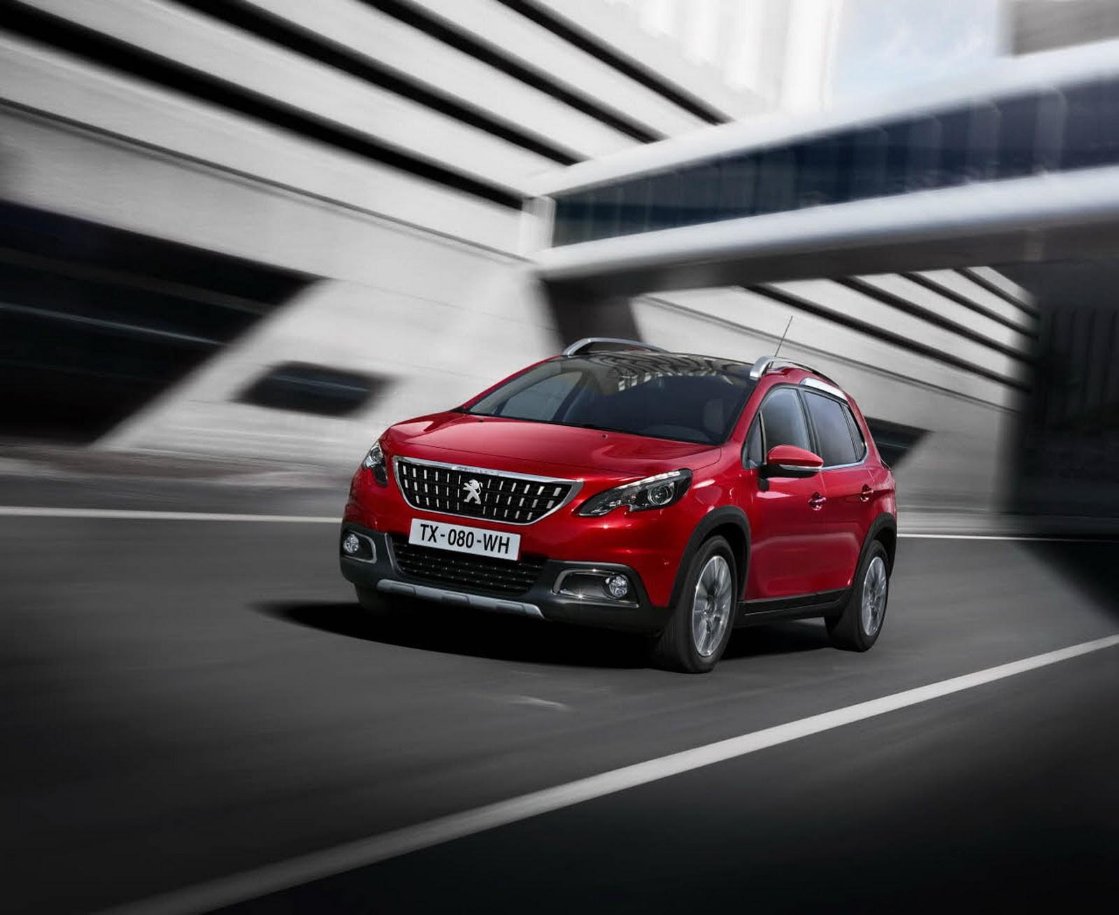 Обновленный кроссовер Peugeot 2008 готовится к Женевскому дебюту