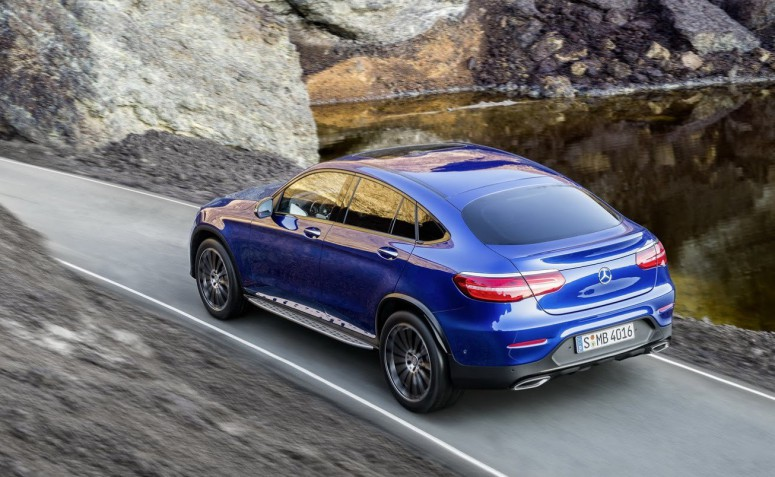 Mercedes-Benz GLC Coupe: BMW X4, бойся меня!