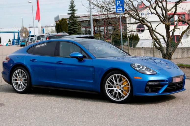 Новая Porsche Panamera лишилась «камуфляжа»