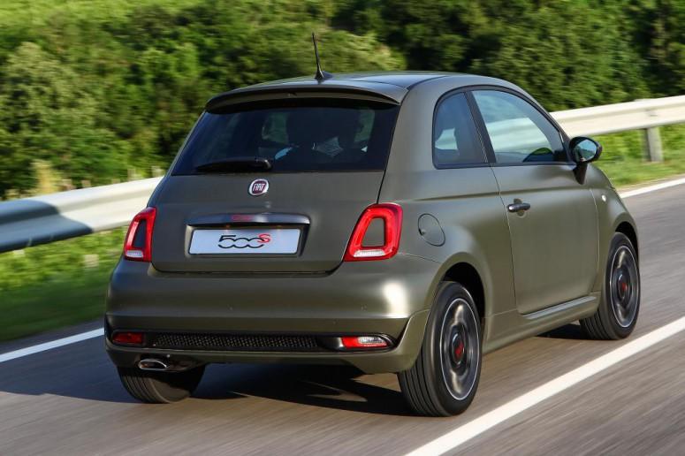 Новая версия Fiat 500S стала «зловещей»