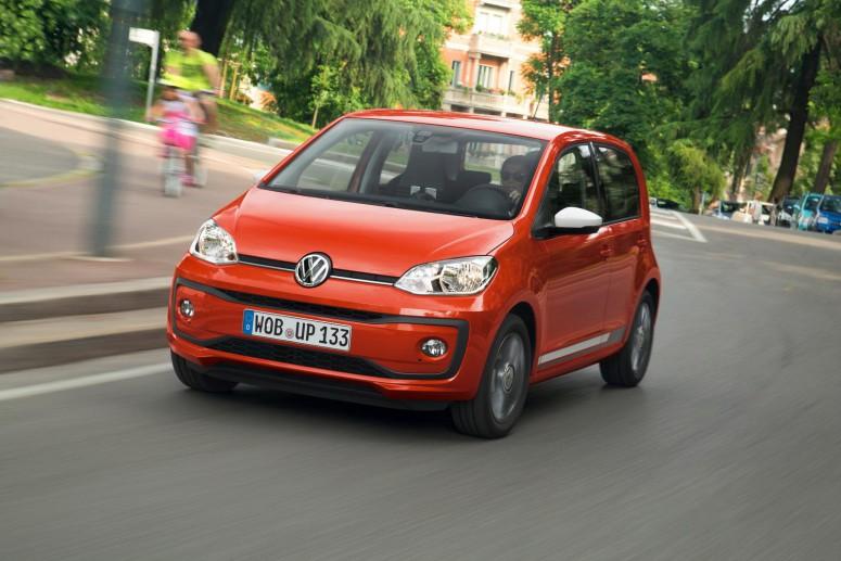 Volkswagen обновил свою самую маленькую модель Up