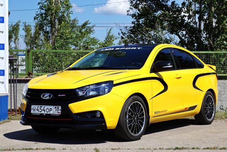 Lada готовит спортивную версию Vesta Sport