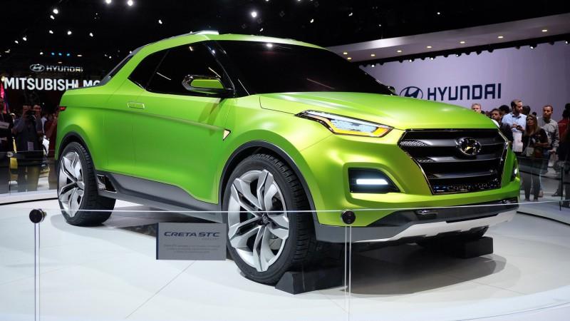 Из кроссовера Hyundai Creta сделали пикап