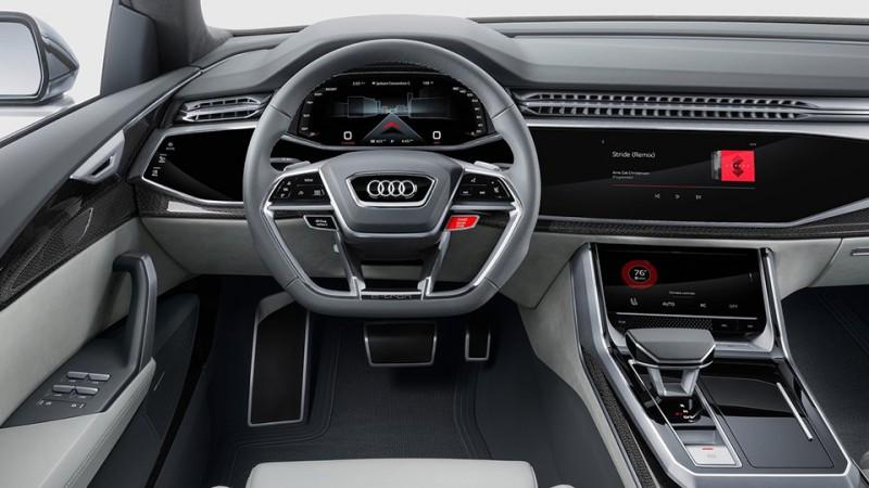 Детройт-2017: Audi привезла концептуальный внедорожник-флагман