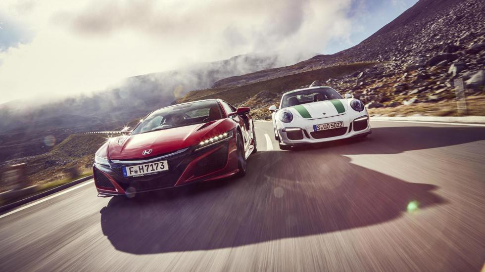 Тест від Top Gear: Porsche 911 проти Honda NSX