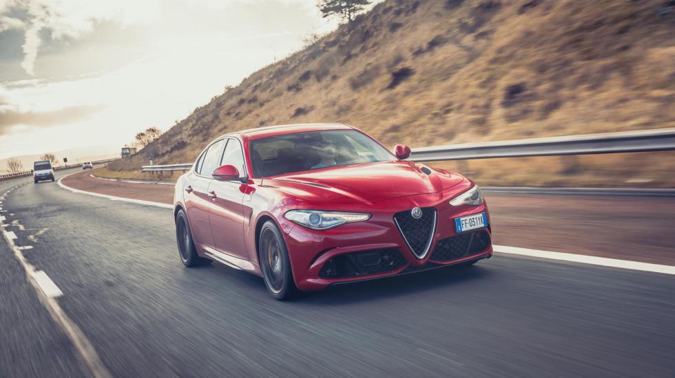 Тест суперседана від Top Gear: Alfa Romeo Giulia QV