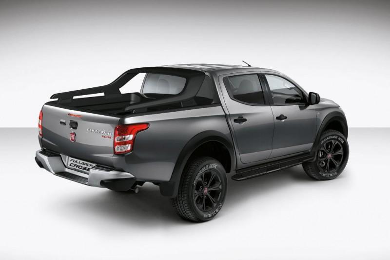 Новый пикап Fiat Fullback Cross спешит удивить рынок