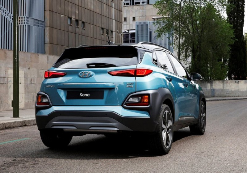 Молодежный кроссовер Hyundai Kona появится в Украине в конце года