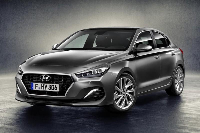 Hyundai показал i30 Fastback
