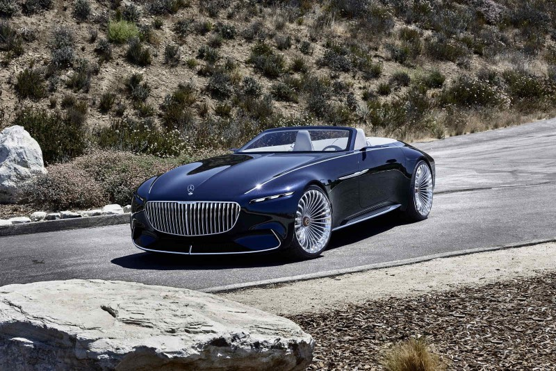 Mercedes Maybach 6 Cabriolet пришвартовался на автосалоне во Франкфурте