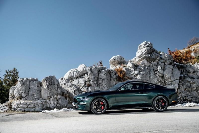 Ford идет покорять Европу новым Mustang
