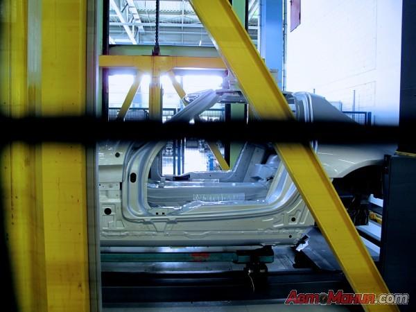 как собирают мерседесы на заводе видео