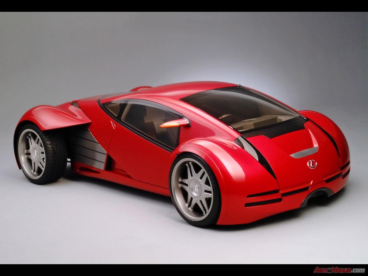 гибридом концептов Lexus &