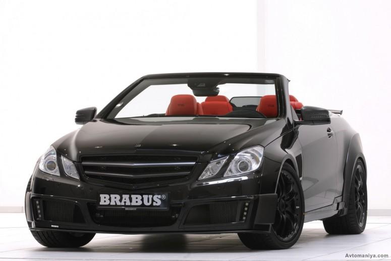 Новый Brabus 800 E V12 – самый быстрый кабриолет в мире