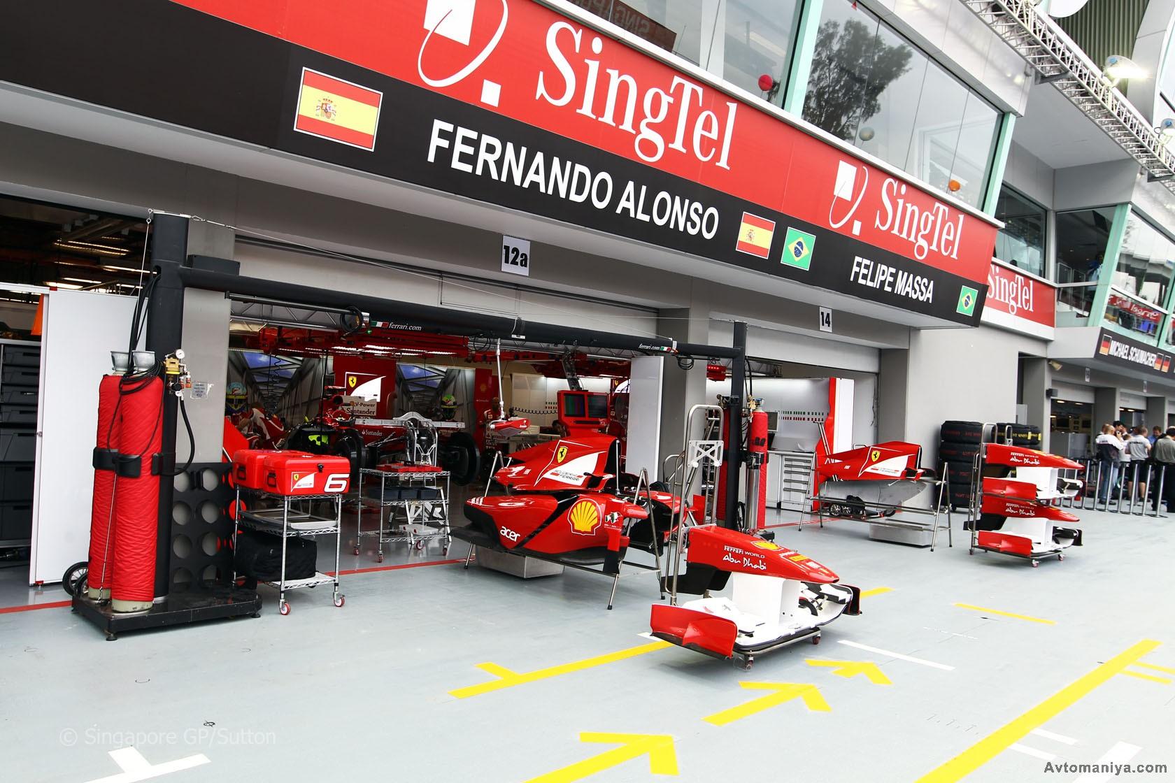 Формула 1 гран при сингапура 2011 гонка 22 фотография