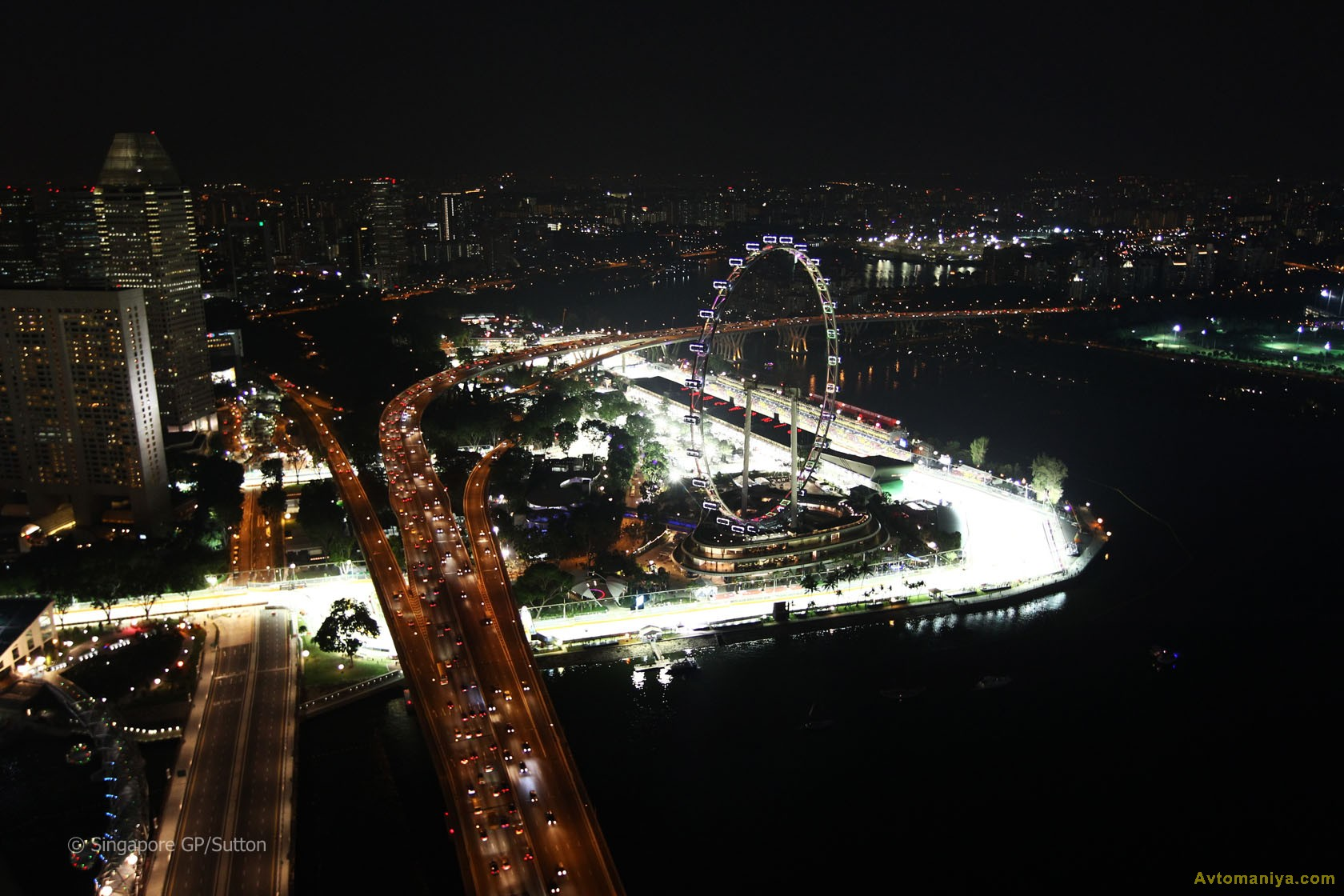 Формула 1 гран при сингапура 2011 гонка 19 фотография