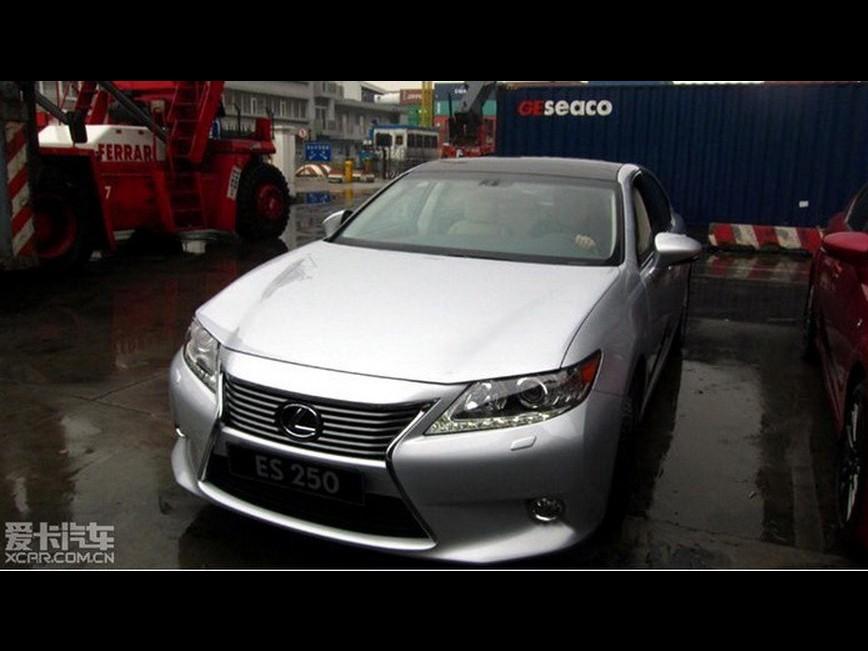 В сети появились первые фото Lexus…