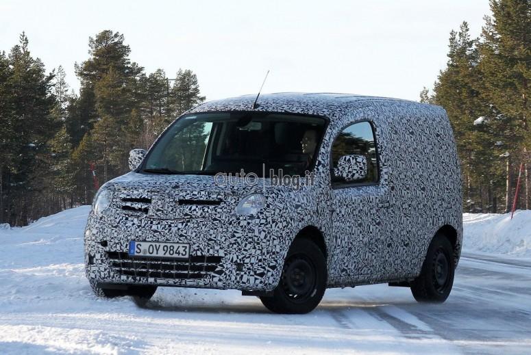 Такой знакомый абсолютно новый фургон Mercedes Citan