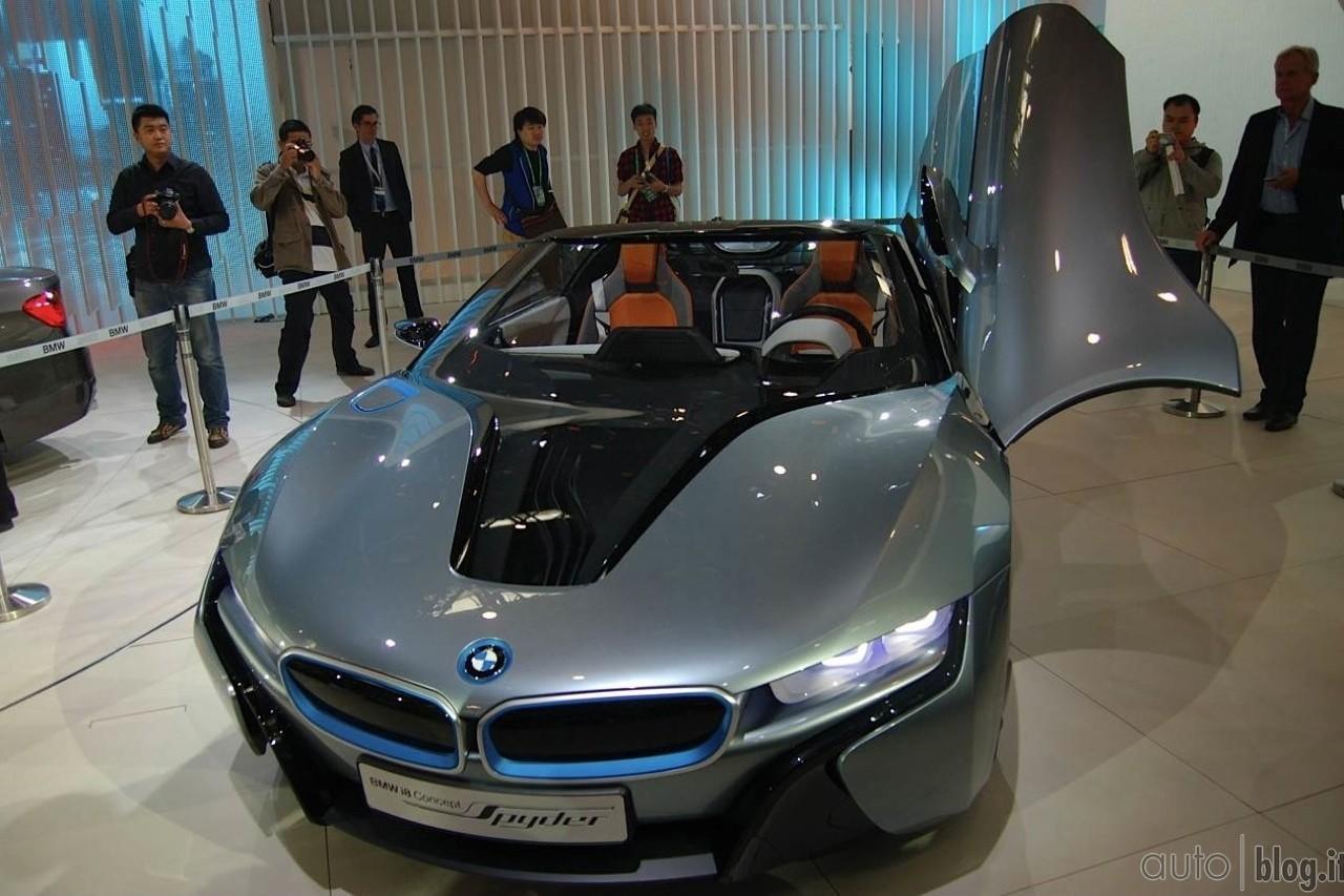 мощность двигателя концепт кара бмв представленного в пекине