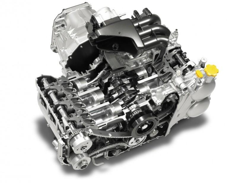 Subaru Boxer: ода оппозитному двигателю [видео]