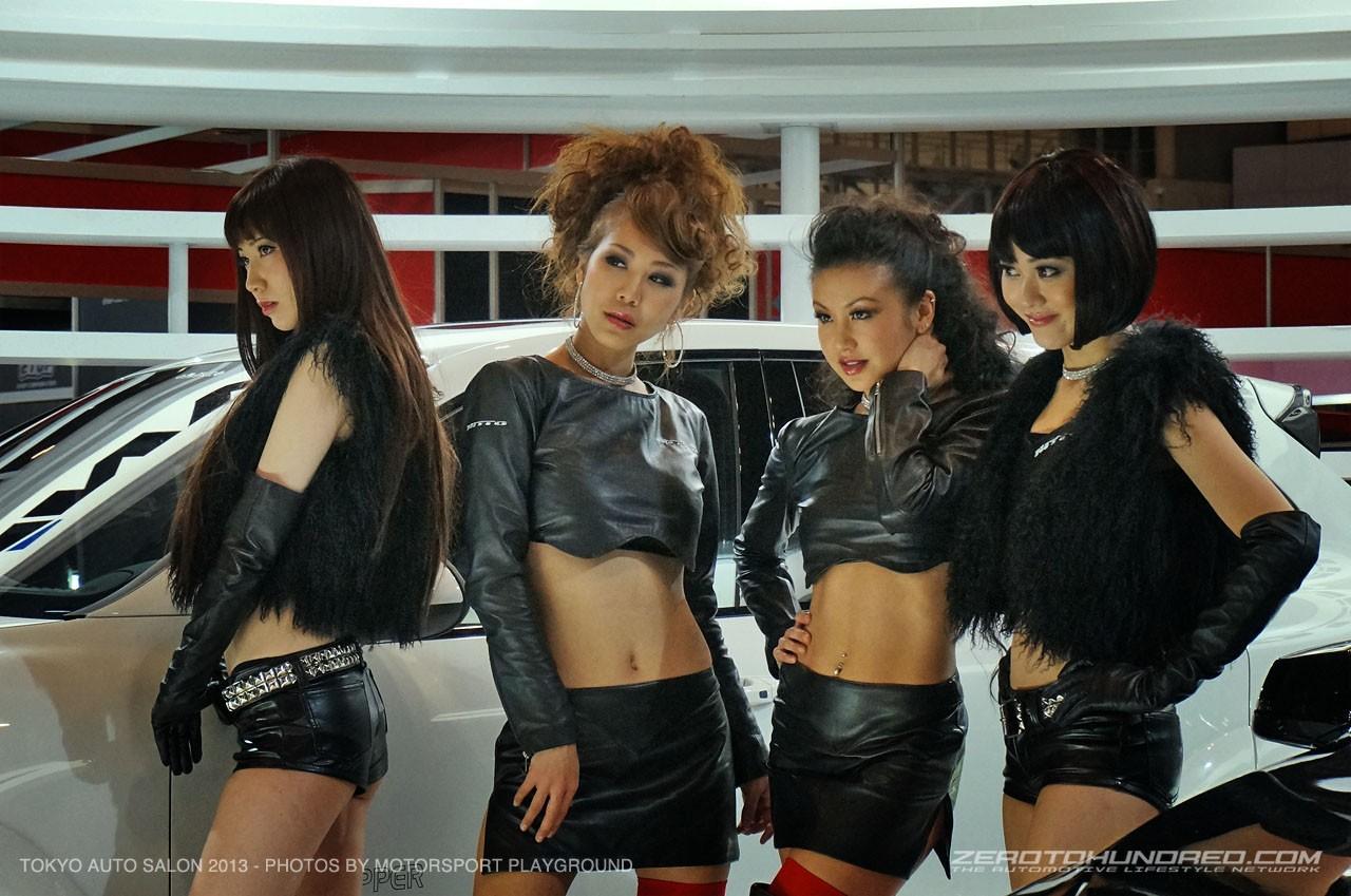 Японские девушки и машины фото 16 фотография