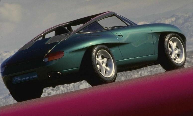 Неординарный концепт Porsche Panamericana 1989 [фото]