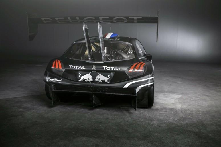 Гоночный вариант Peugeot 208: монстр T16 Pikes Peak [фото]