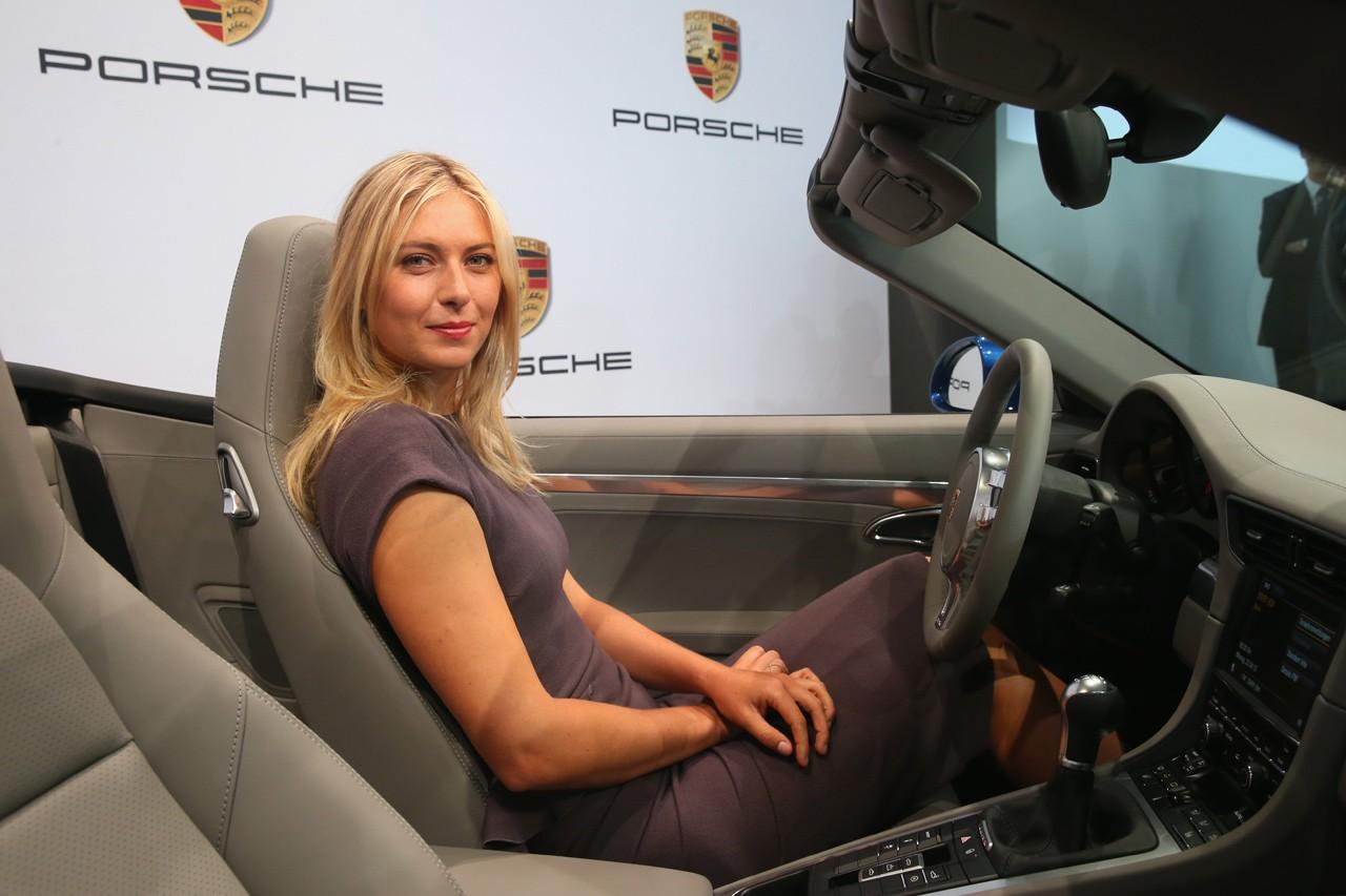 мария шарапова стала рекламным лицом марки porsche