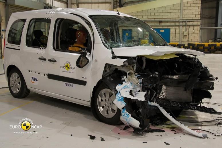 Mercedes Citan разочаровал в тестах Euro NCAP [2 видео]