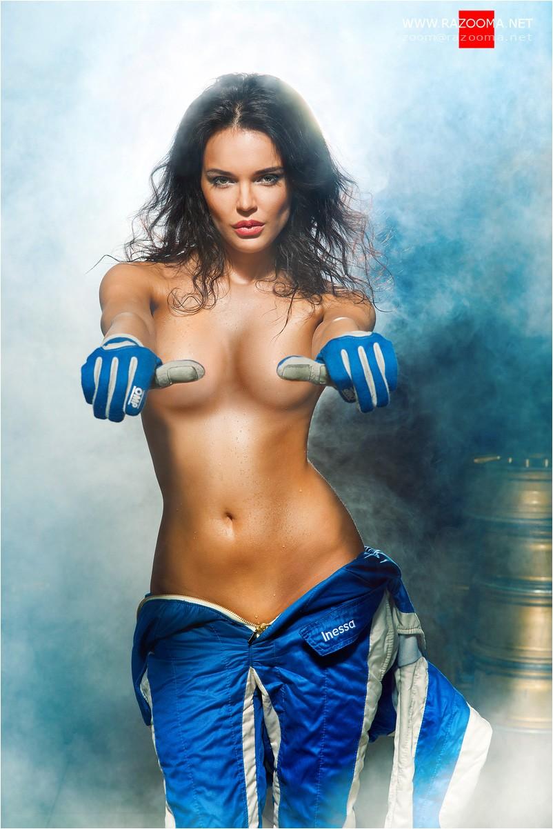 Автогонщица Инесса Тушканова разделась для журнала PlayBoy (НЮ) .