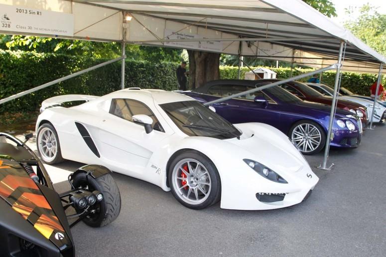 Дорожная версия экзотического суперкара Sin R1 дебютирует в январе