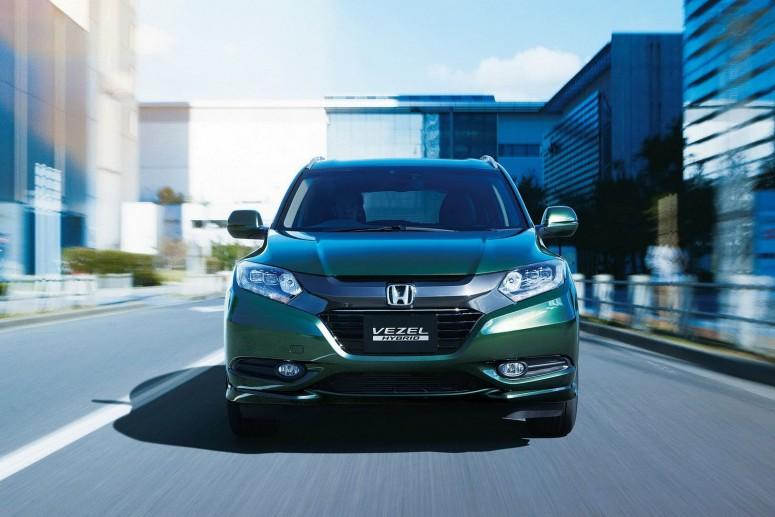 Honda Vezel: европейская версия придет лишь в 2015 году