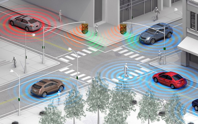 """Новейшие технологии: Vehicle-to-Vehicle готова сказать """"нет"""" авариям Авто лаборатория"""