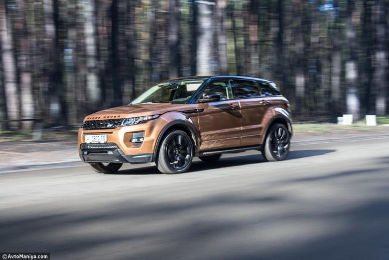 Тест-драйв Range Rover Evoque 2014: британский шик