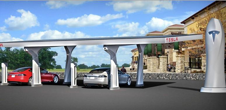 Daimler раскритиковал зарядные станции Tesla