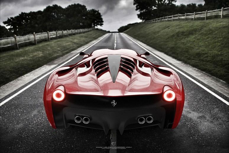 Дизайнеры изменили Ferrari 458 до неузнаваемости [фото]