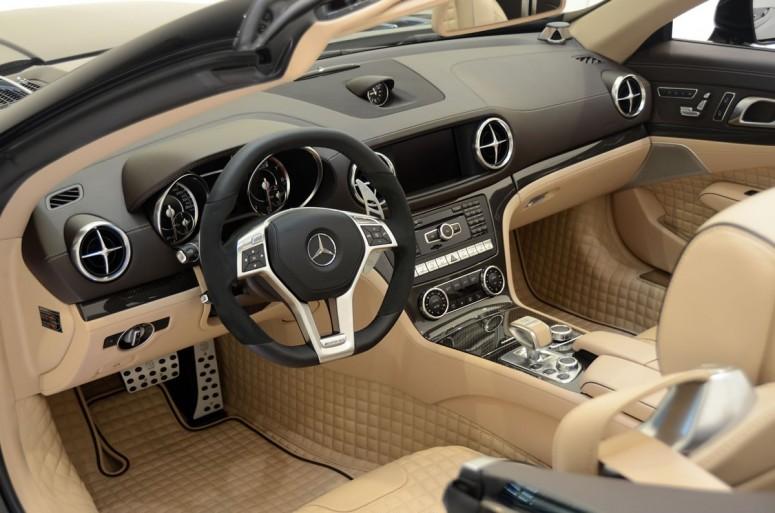 Mercedes анонсировал новый двигатель для родстера SL