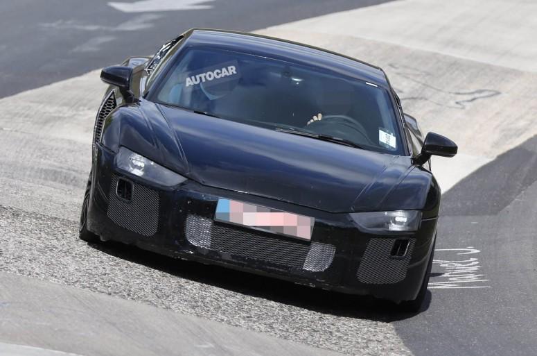 Новое Audi R8 приближается к запуску в 2015 году