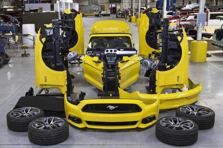 Как Ford разбирал кабриолет 2015 Mustang [видео]