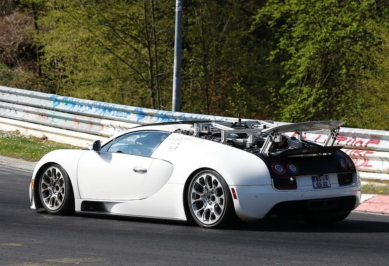 Второе поколения Veyron будет гибридным [фото]