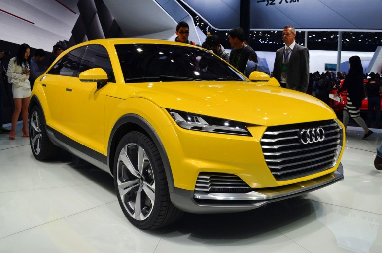 Audi раскрыло внедорожный концепт TT Offroad