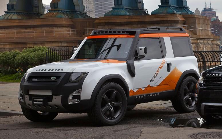 Новый Land Rover Defender будет «прочным и доступным» [видео]