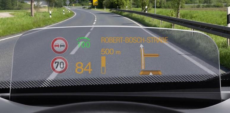 Проекционные дисплеи в машинах BMW