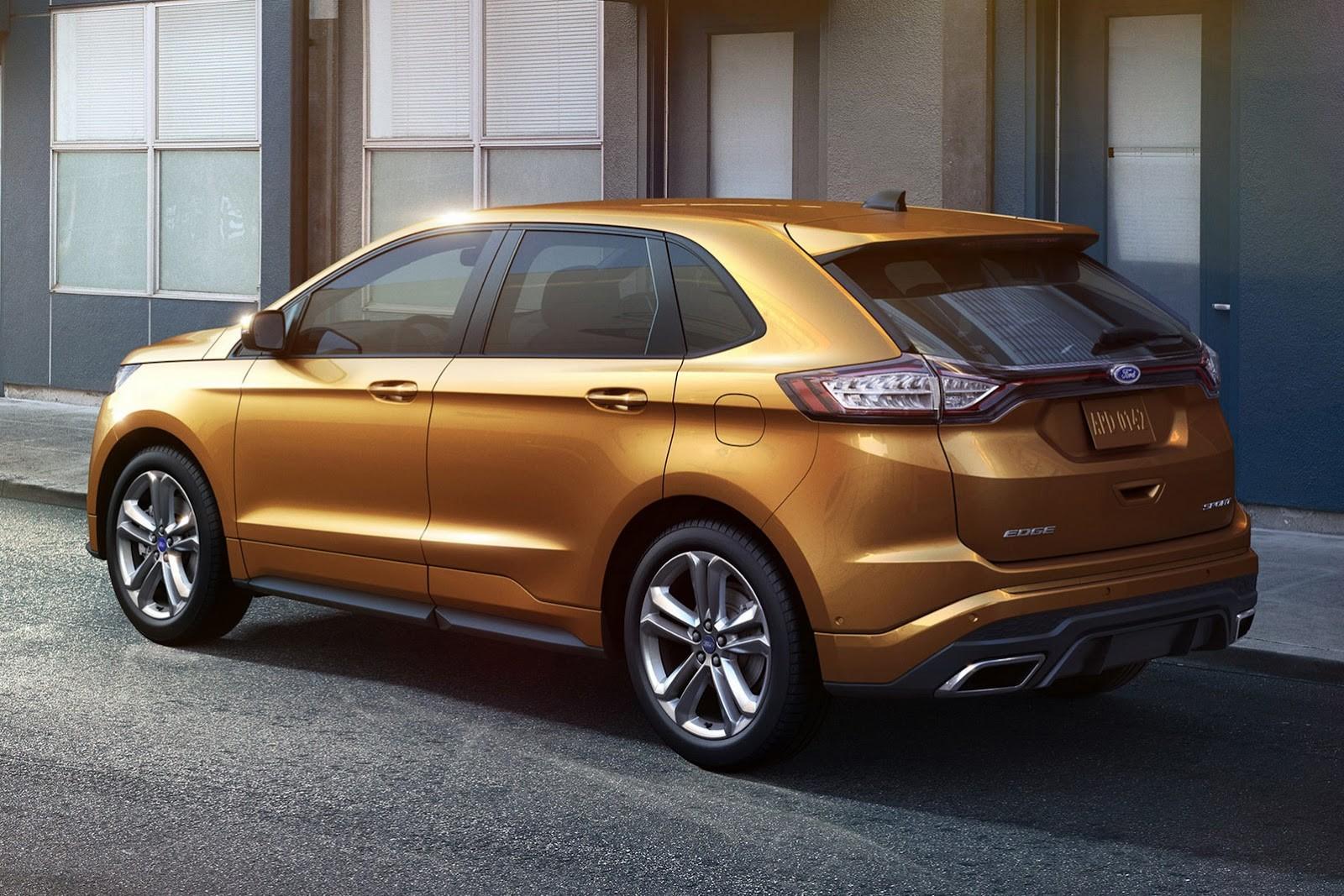 форд эдж концепт автосалон америка апрель 2014 цена