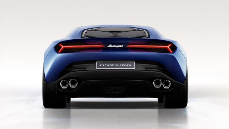 "Концепт Lamborghini Asterion: самый \""зеленый\"" суперкар с расходом 4,2 литра"